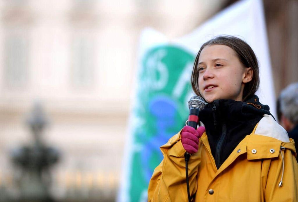 Une série télé sur Greta Thunberg