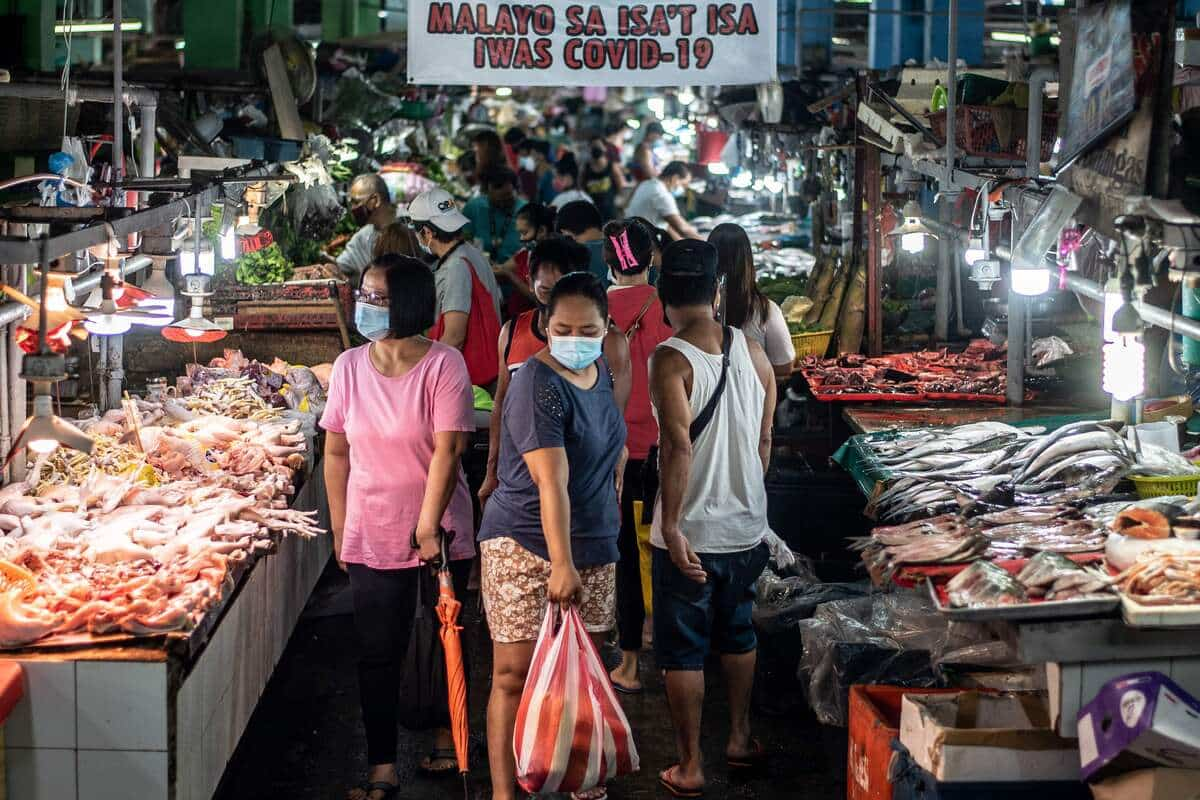 Coronavirus: les Philippines entrent en récession