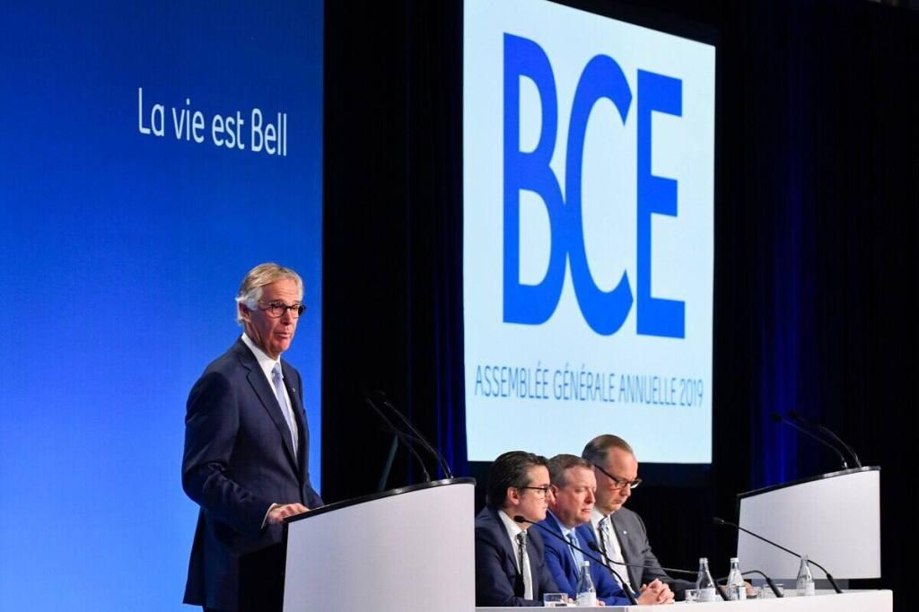 Baisses significatives des revenus et des profits pour BCE