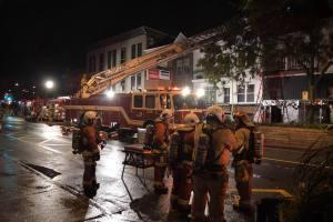 [PHOTOS] Incendie suspect chez Soupe et Cie: un autre malheur au pire moment
