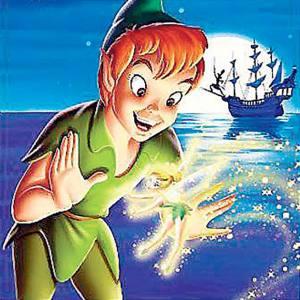 Dehors, Peter Pan, Aladin et Dumbo!