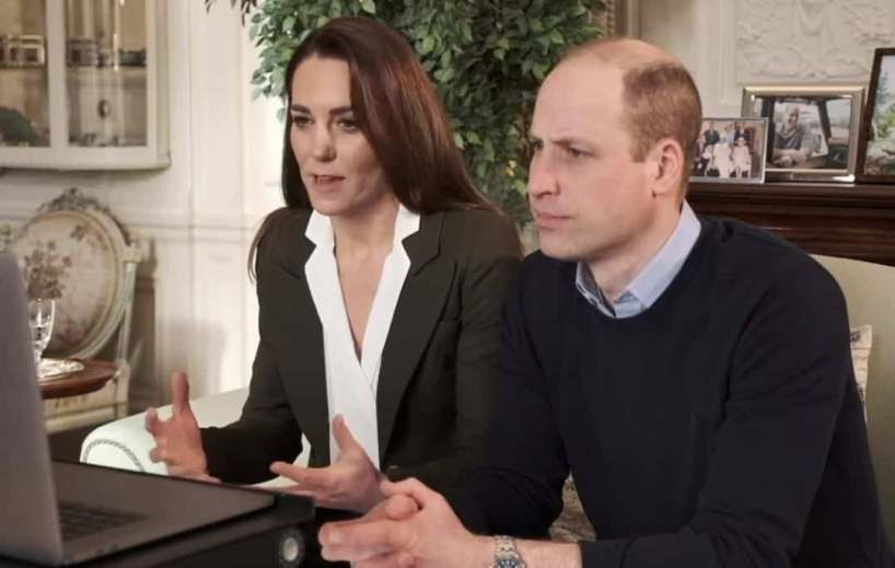 Le prince William encourage la vaccination