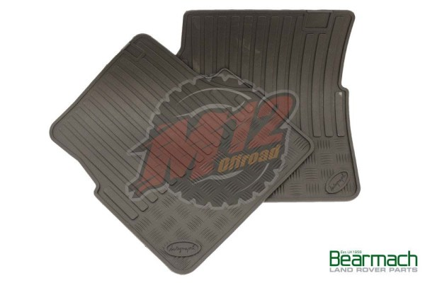 Thick Rubber Front Drop in Mat Set - Land Rover Defender - BA 3501