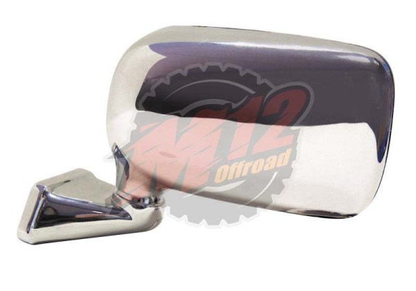 Land Rover Chrome Domed Mirror - LH