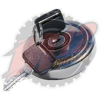 Land Rover Locking Fuel Cap - Stainless Steel