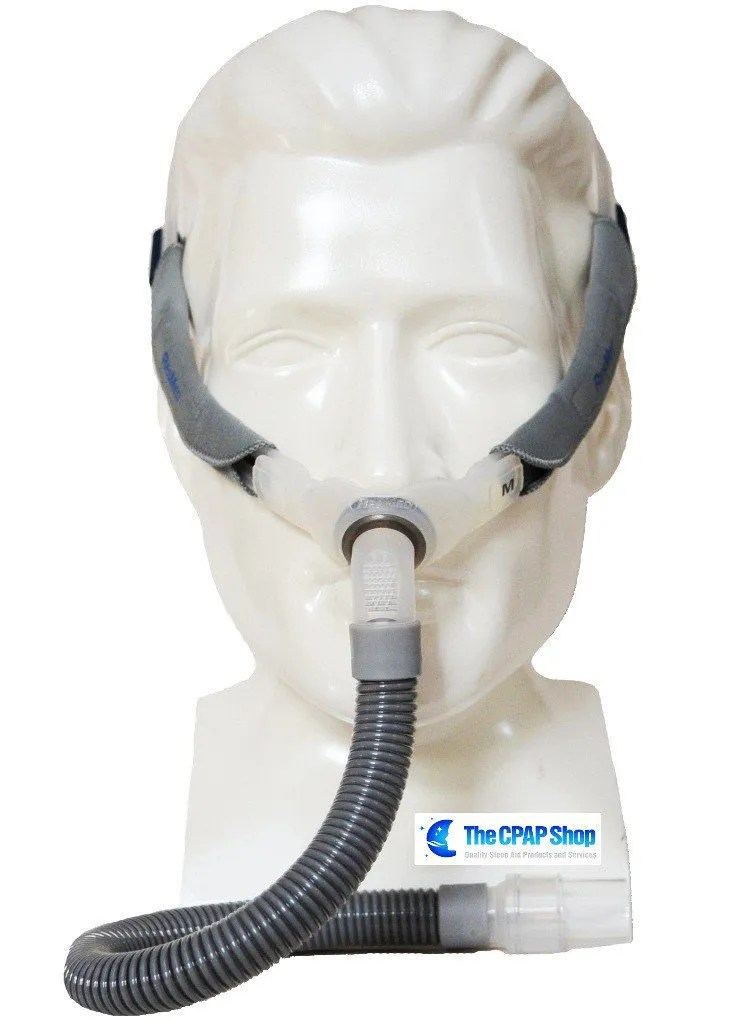 resmed swift fx nasal pillow cpap mask with headgear