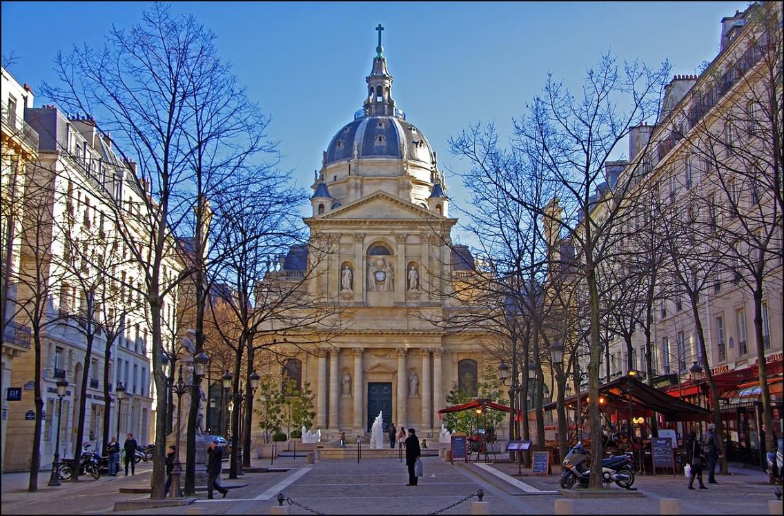 L'entrée principe de l'université Paris 1 Panthon-Sorbonne