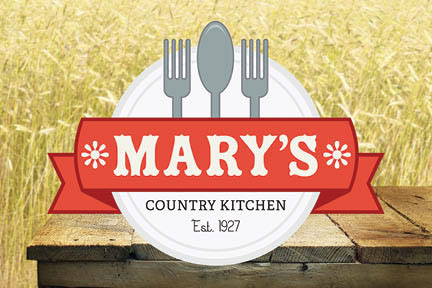 Mary Country Kitchen Flyer Behance