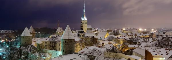 Старый Таллин зимой