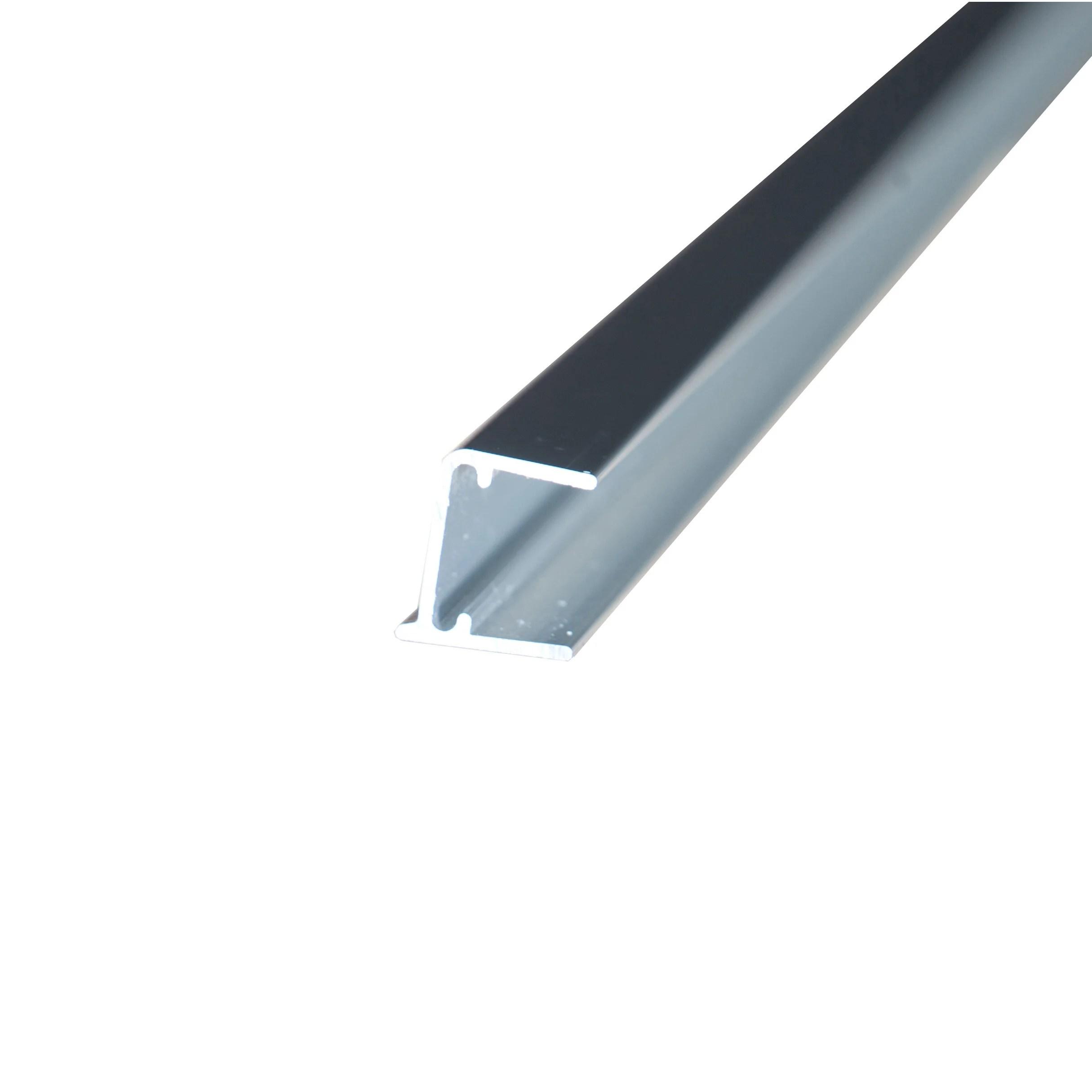 profil obturateur pour plaque ep 16 mm aluminium l 1 m