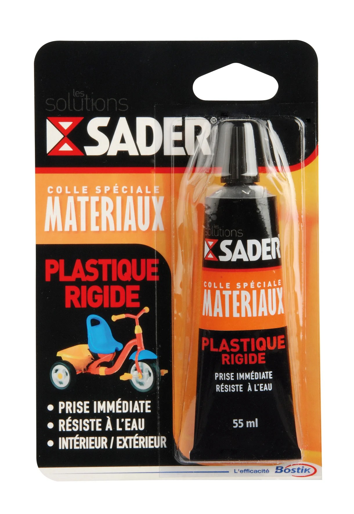 Colle Reparation Speciale Materiaux Sader 55ml Leroy Merlin