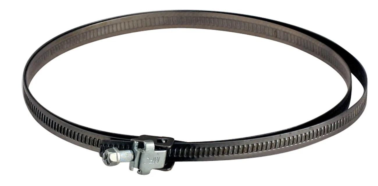 Collier De Serrage Poujoulat D 80 A 160 Non Peint Cm Leroy Merlin
