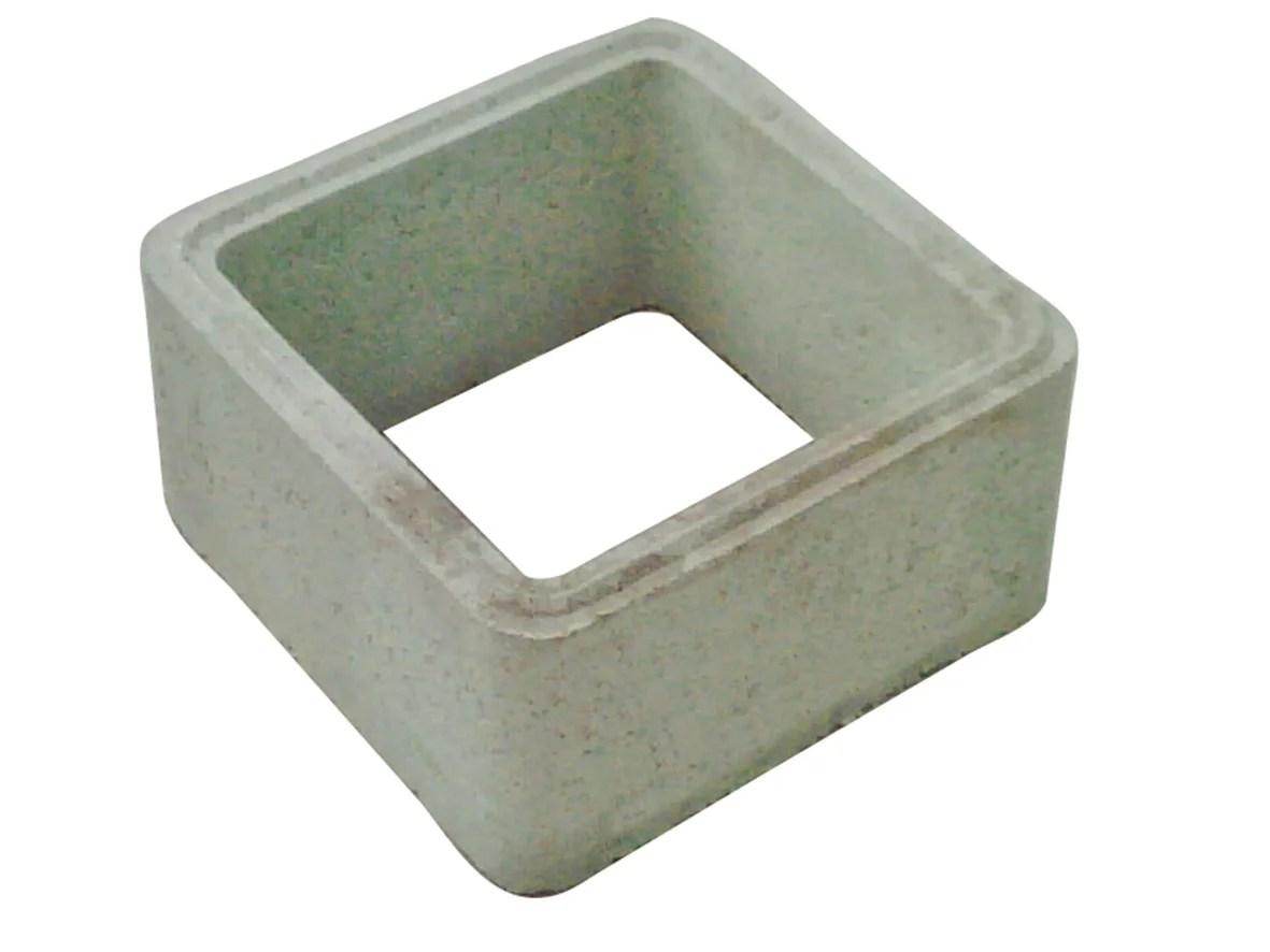Demi Rehausse Beton 50x50x20 Cm Leroy Merlin