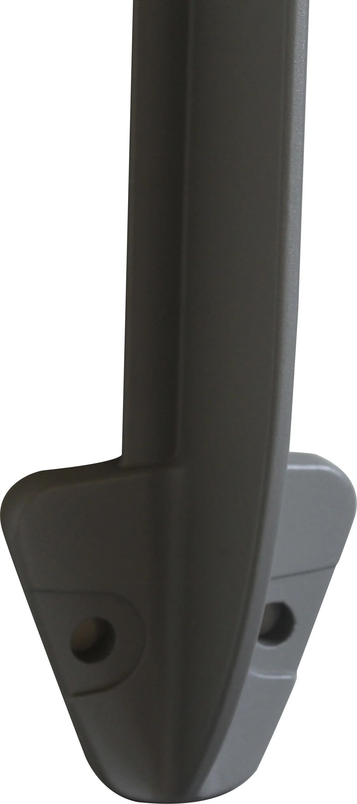 Poteau Pour Garde Corps Tieral Aluminium Gris H 113 X L 4 Cm Leroy Merlin