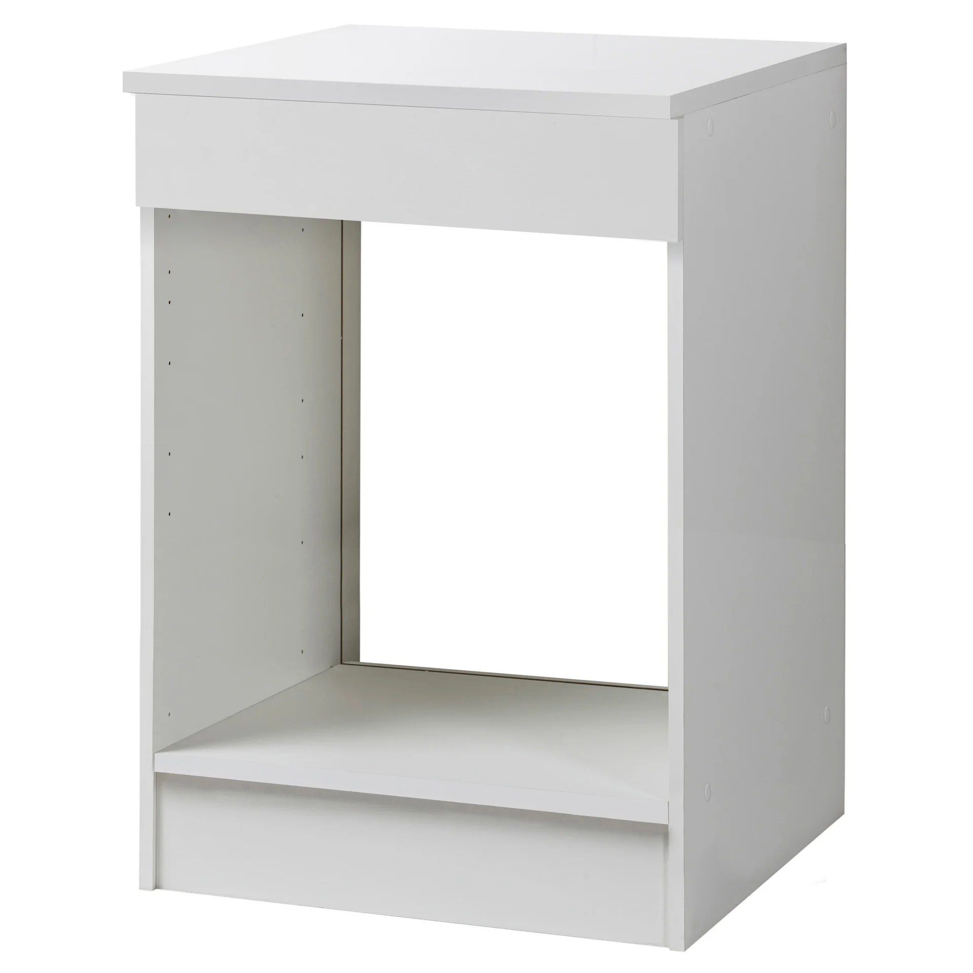 meuble de cuisine bas four blanc h86x