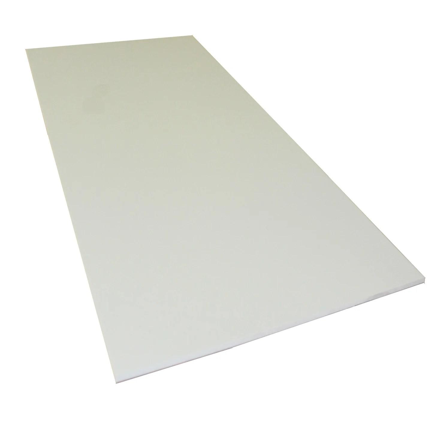 Plaque Pvc Expanse 10 Mm Blanc Lisse L 200 X 100 Cm Leroy Merlin