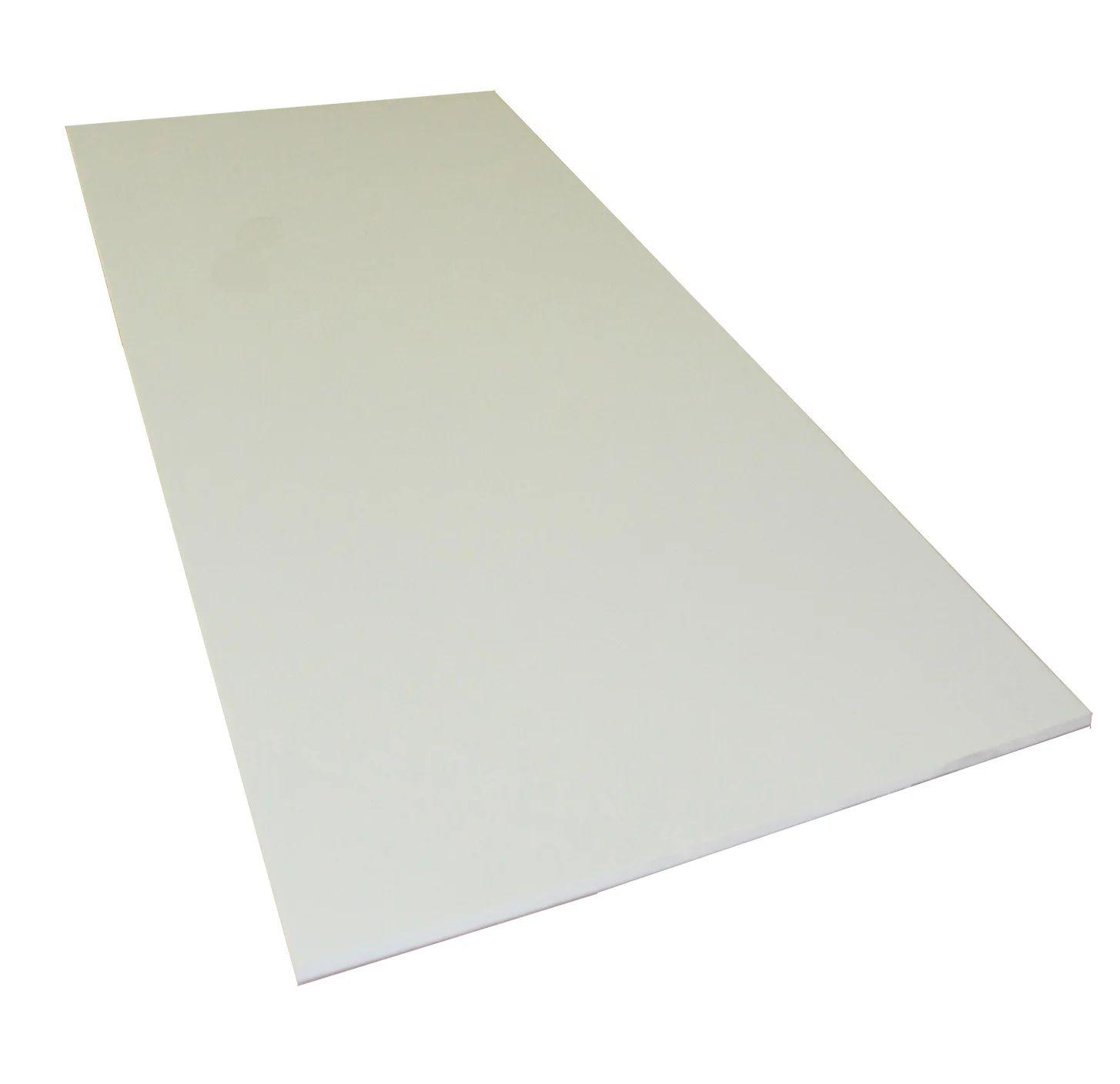 Plaque Pvc Expanse 3 Mm Blanc Lisse L 100 X 50 Cm Leroy Merlin