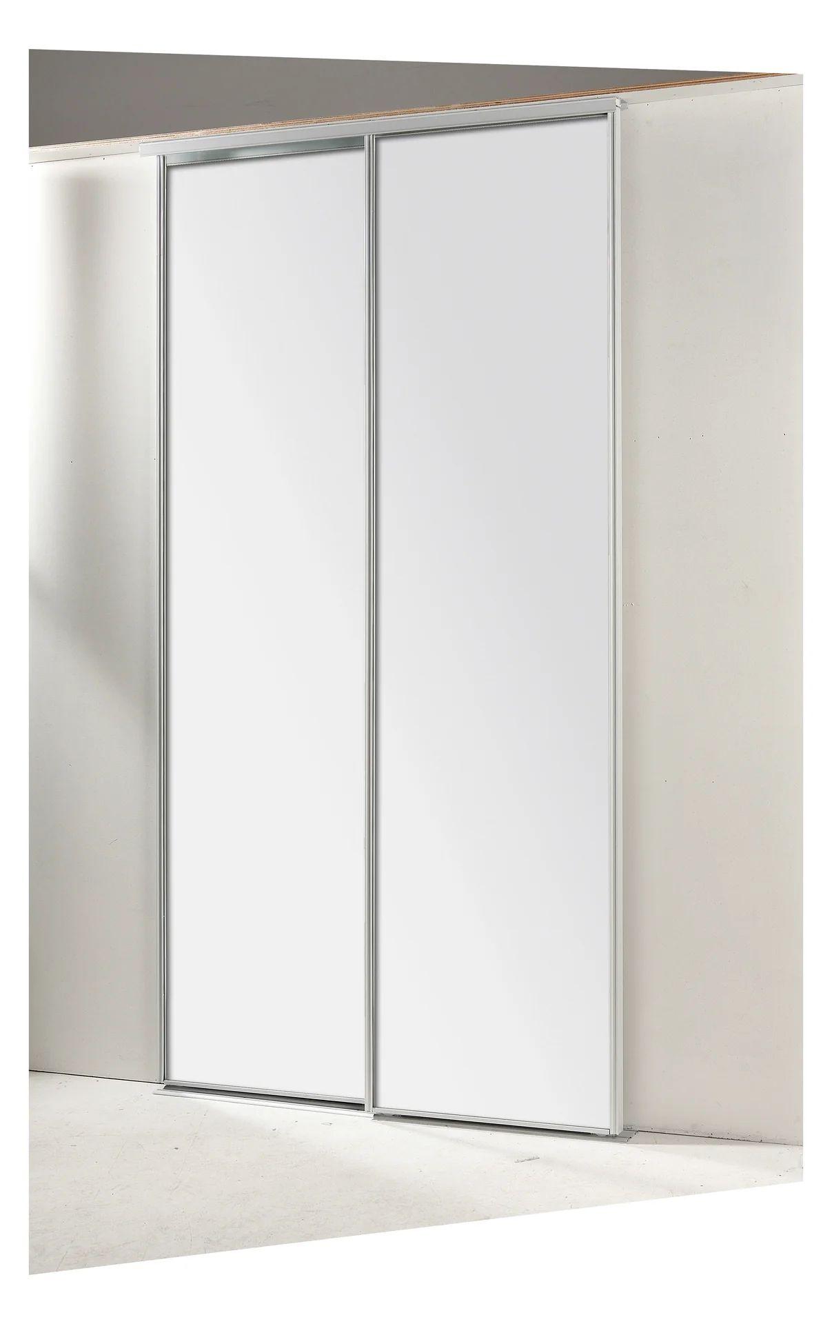 portes de placard coulissantes 2 portes