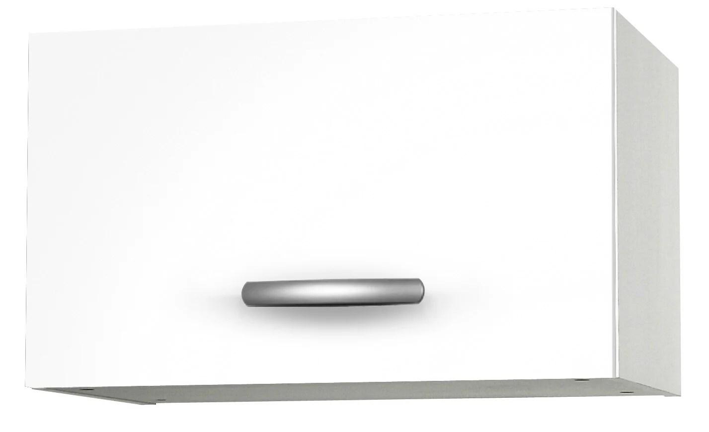Meuble De Cuisine Haut 1 Porte Blanc H35 2x L60x P35 2cm Leroy Merlin