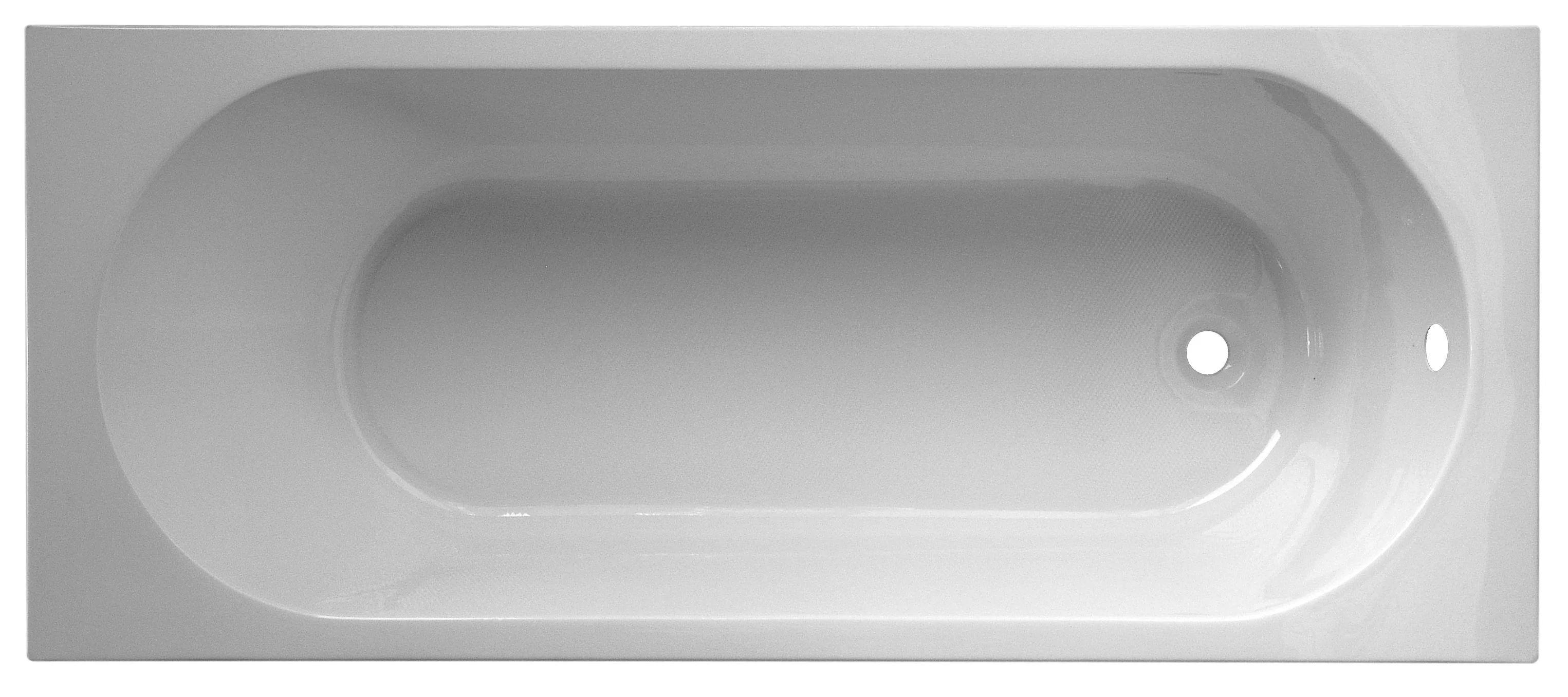 baignoire rectangulaire l 140x l 70 cm
