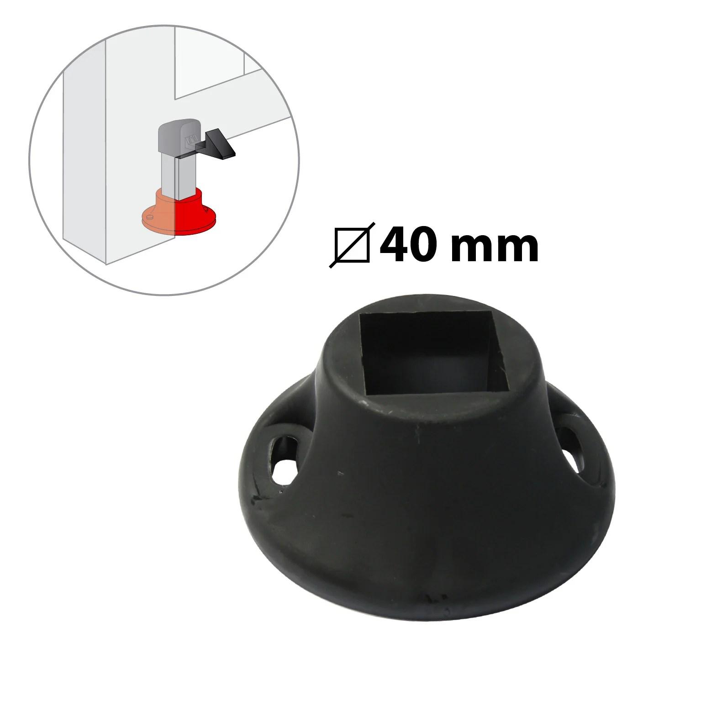 Socle Pour Arret De Portail Composite Plastifie H 50 X L 120 X P 120 Mm Leroy Merlin