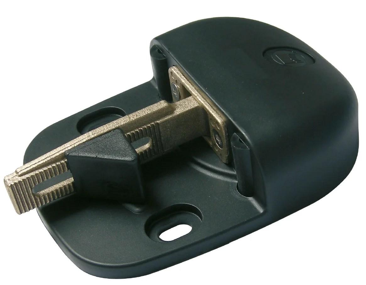 Sabot Noir Plastique H 42 X L 120 X P 162 Mm Afbat Leroy Merlin