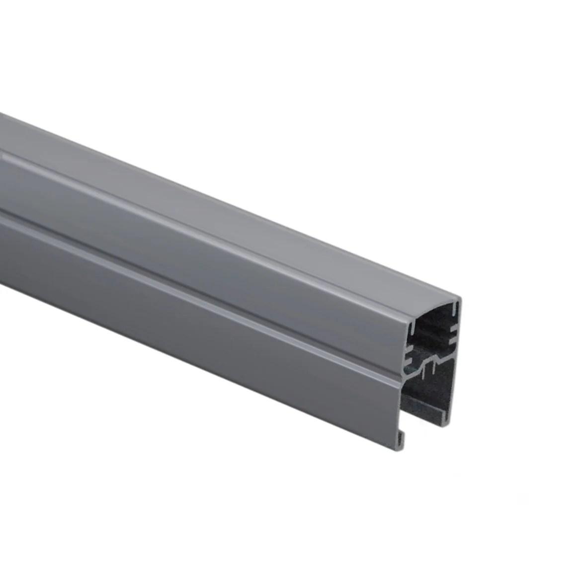 Profil De Finition Aluminium En U Gris Clair H 175 X L 44 X P 34 Mm Leroy Merlin