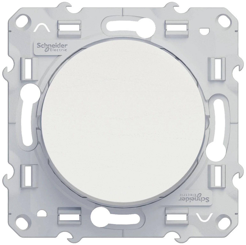 Interrupteur Va Et Vient Odace Schneider Electric Blanc Leroy Merlin