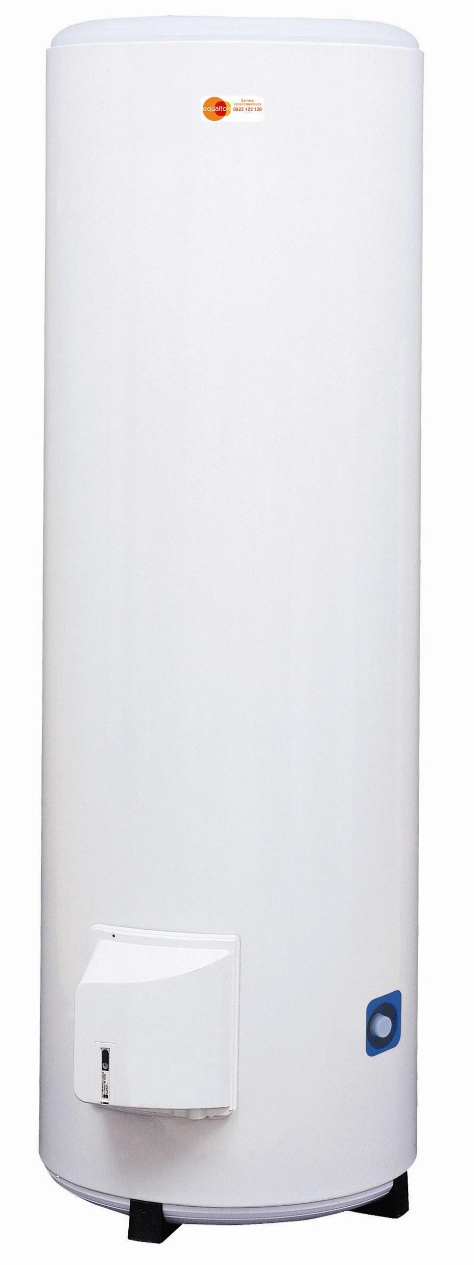 Chauffe Eau Electrique Vertical Sur Socle Equation Titane Electronique 200 L Leroy Merlin