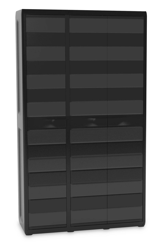 armoire haute resine 4 tablettes