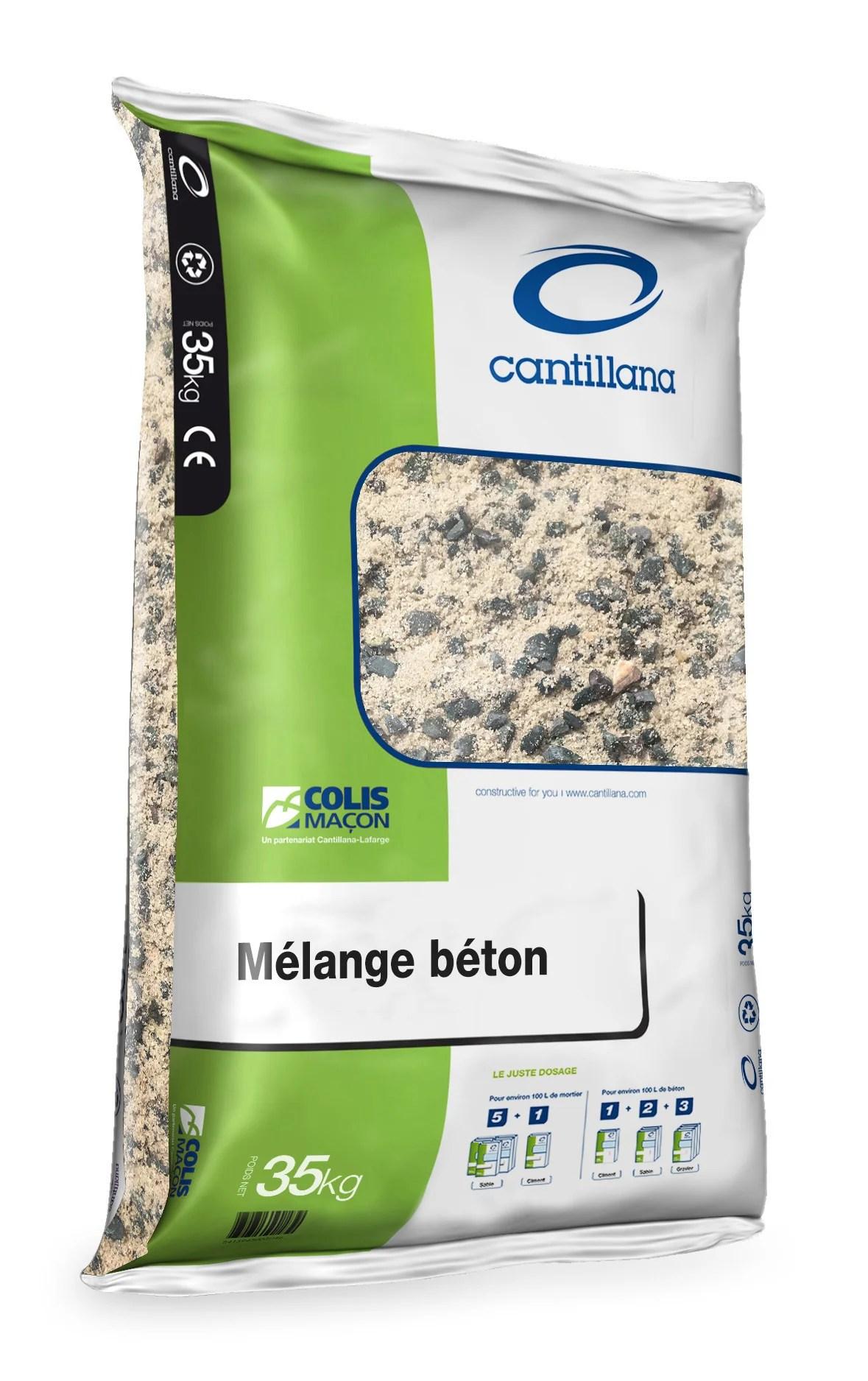 Melange Sable 0 4 Gravillon 4 20 En Sac Sac Plastique De 35 Kg