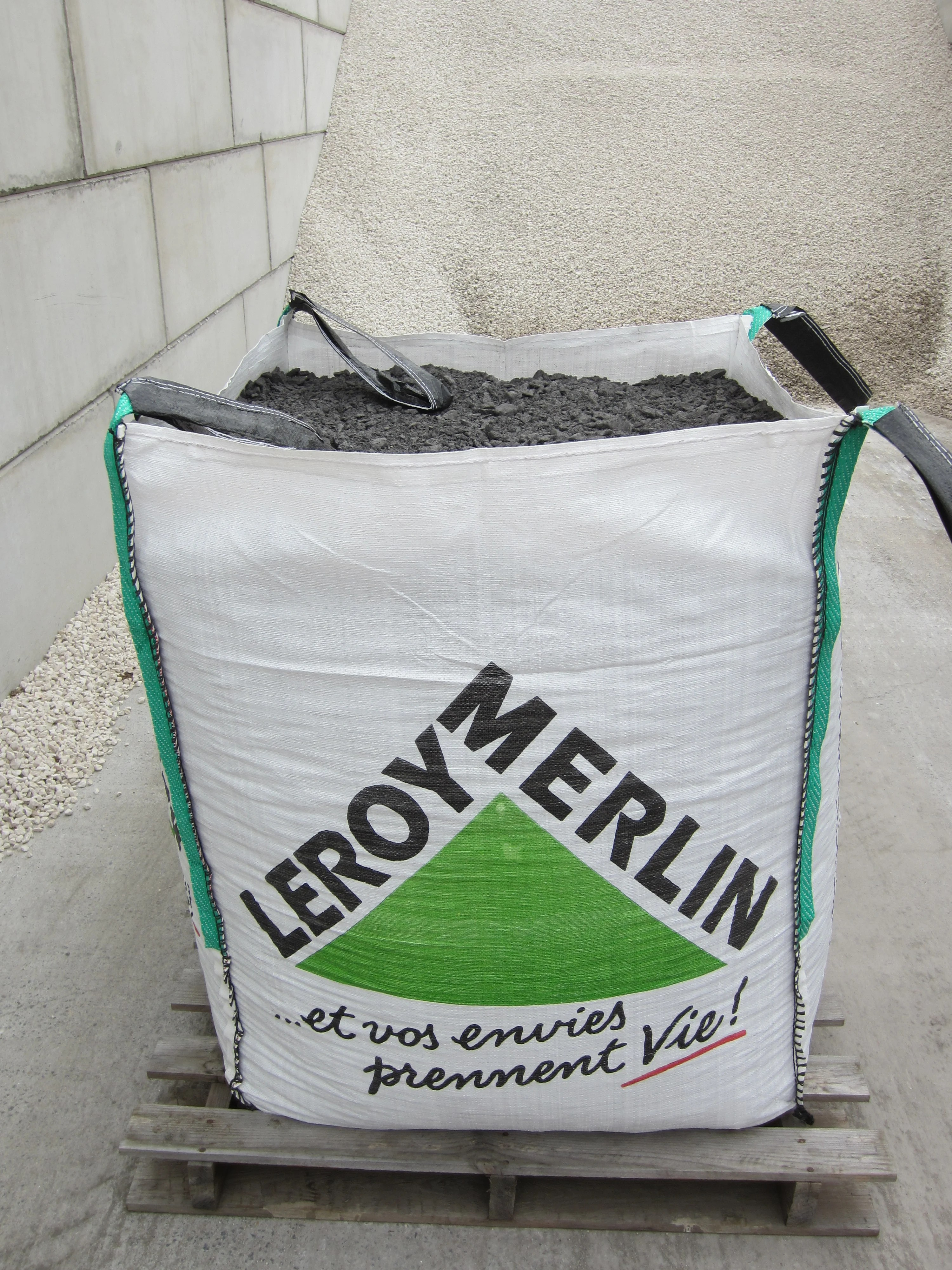Prix Big Bag Gravier Beton Au Meilleur Prix Leroy Merlin