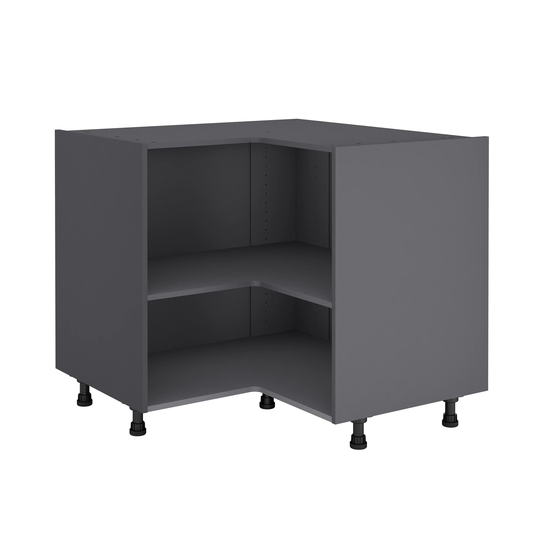 meuble de cuisine bas d angle delinia id h 76 8 x l 97 x p 58 cm