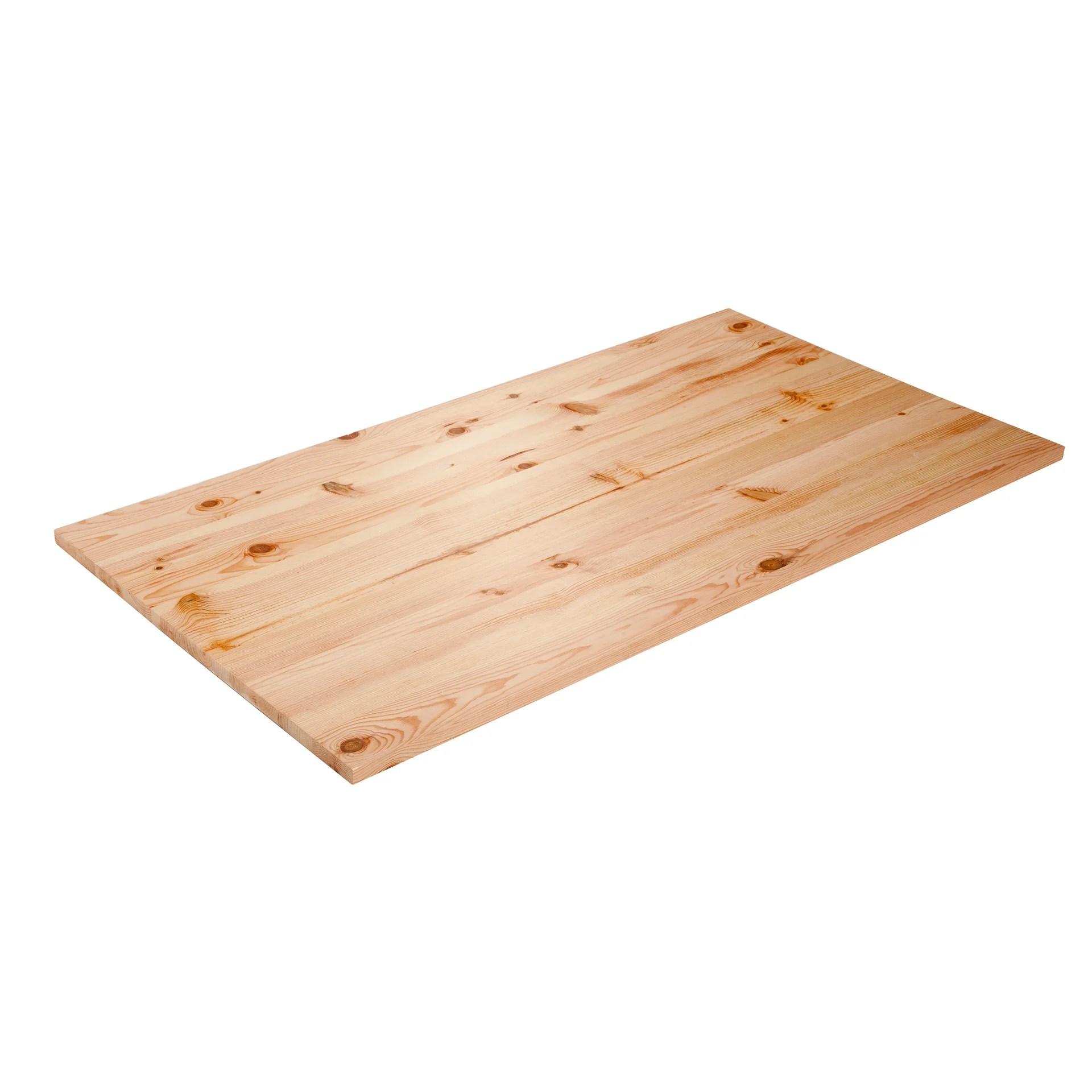 plateau de table pin l 150 x l 80 cm x ep 26 mm