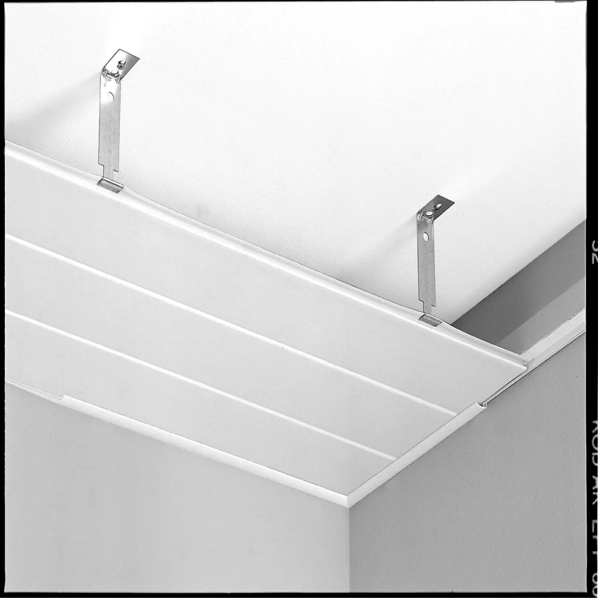Lot De 10 Suspentes Pour Plafond Lambris Grosfillex 15cm Leroy Merlin