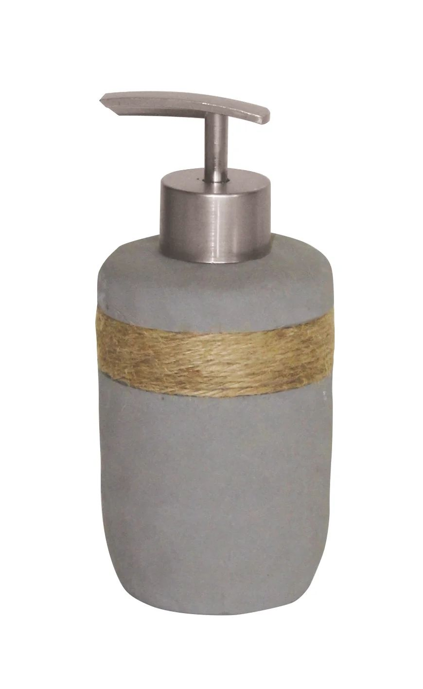 Distributeur De Savon Ciment Lasco Gris Argent Leroy Merlin