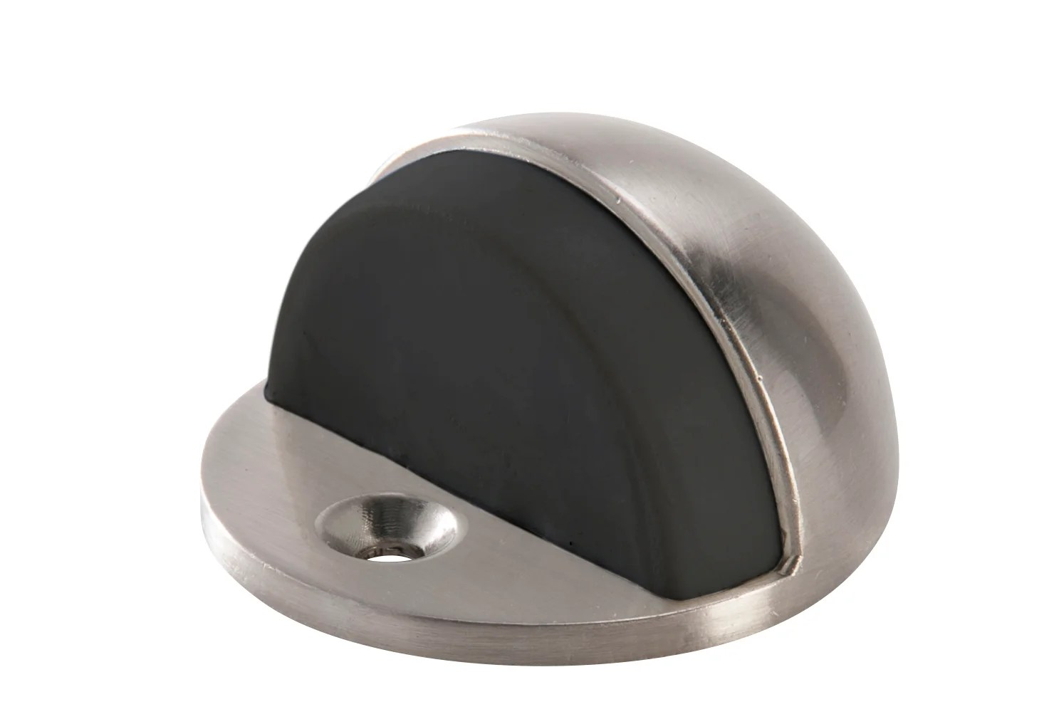 Butee De Porte Standers Acier Inoxydable Gris D 4 5 Cm X L 4 5 Cm X H 2 3 Cm Leroy Merlin