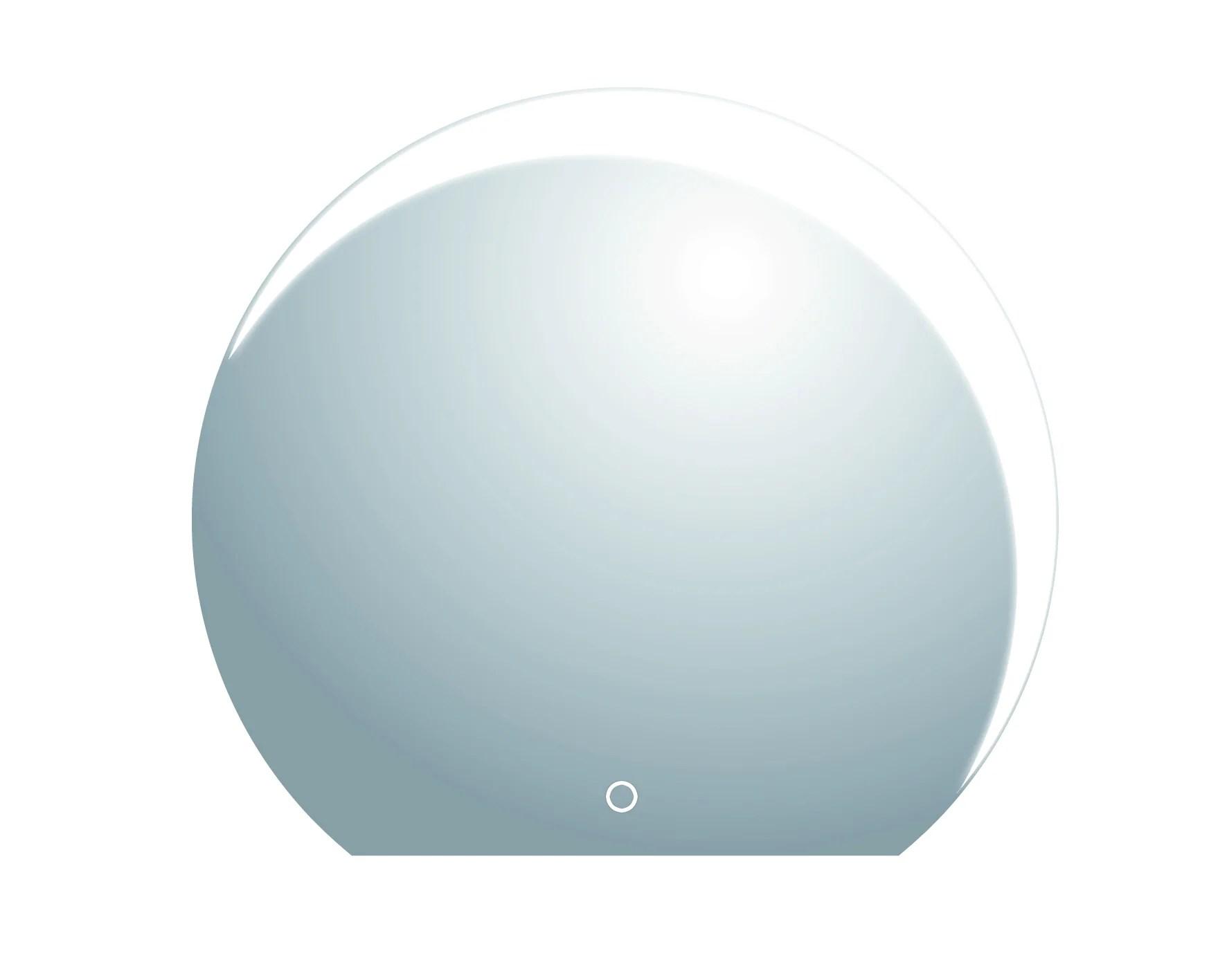 Miroir Non Lumineux Decoupe Deco L 50 X L 70 5 Cm Poli Leroy Merlin