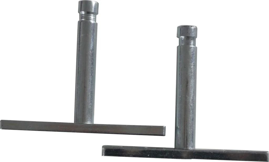 Kit De Fixations Invisibles Metal Brut Gris X P 1 2 Cm Leroy Merlin