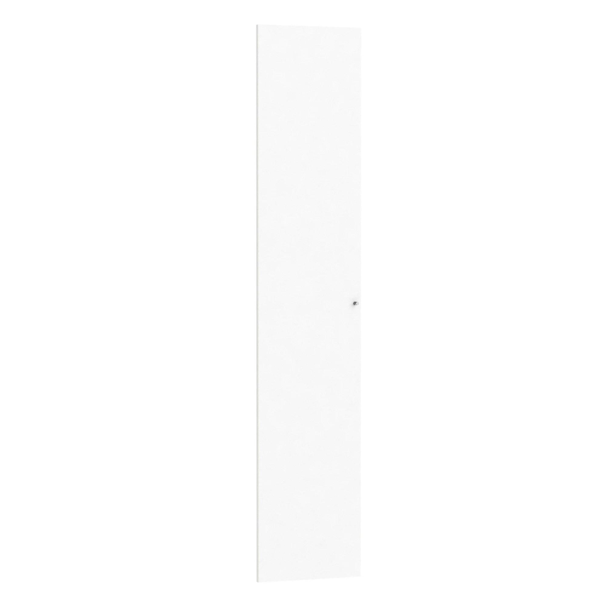 Porte Battante Home Blanc Mat H 200 X L 40 Cm Leroy Merlin