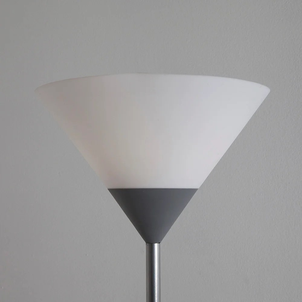 Lampadaire Avec Liseuse Basic 177 Cm Blanc 60 W Leroy Merlin