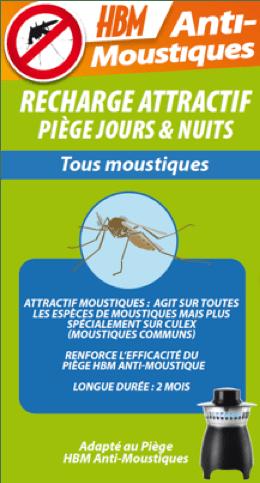 Recharge Attractive Pour Piege Anti Moustiques Hbm Leroy Merlin