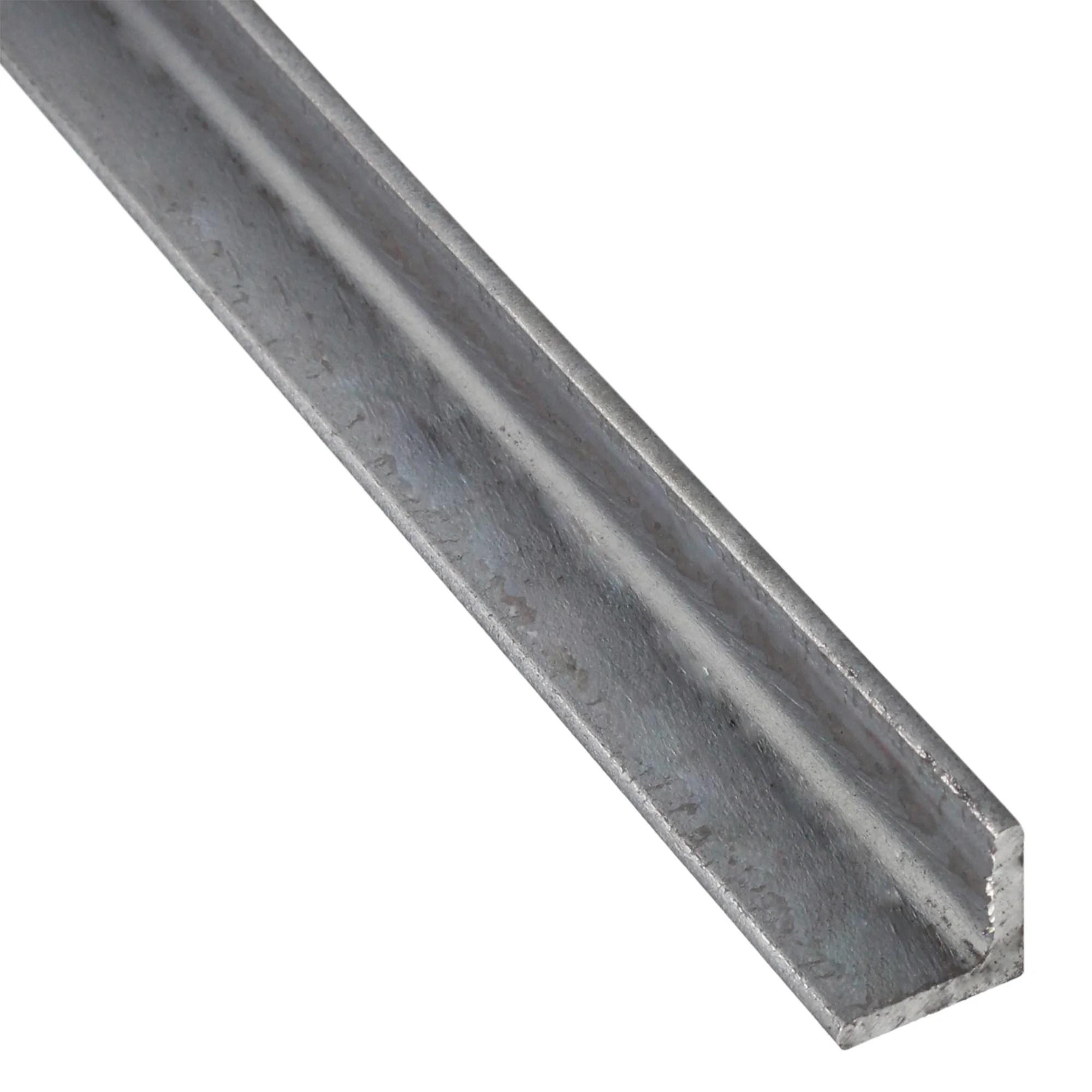 corniere egale acier brut noir l 1 m x l 2 5 cm x h 2 5 cm