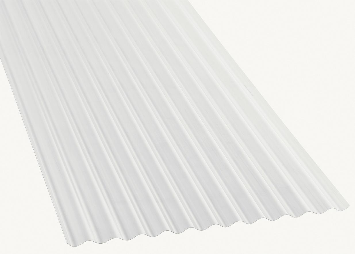 Plaque De Toiture Petite Onde Polycarbonate Translucide L 0 9 X L 2 M Carbo Sp Leroy Merlin