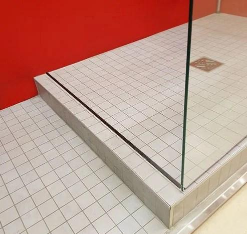 Barre De Seuil Pour Porte De Douche Aluminium Brillant 120 Cm Leroy Merlin