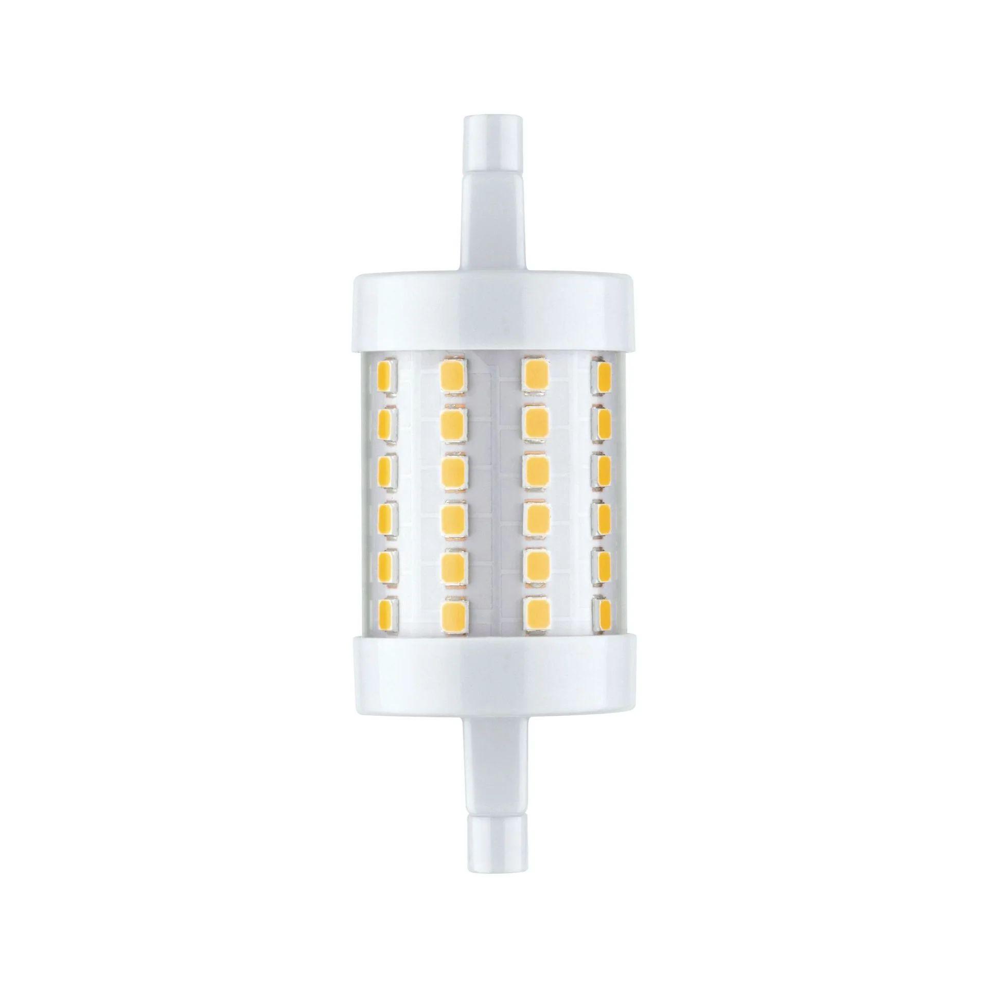 Ampoule Led Blanc Crayon R7s 78 Mm 950 Lm 9 W Blanc Chaud Paulmann Leroy Merlin
