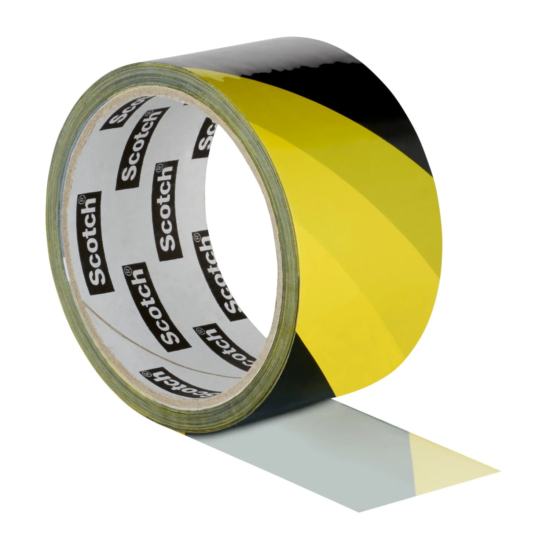 Ruban Adhesif Signalisation Jaune Et Noir Scotch Lr 50 Mm X Ln 33 M Leroy Merlin