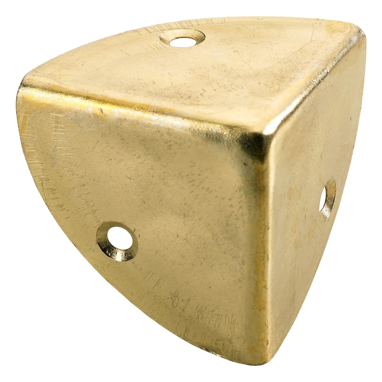 coin de valise a visser acier laitonne hettich l 45 mm
