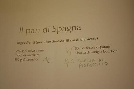 Semifreddo  con pan di spagna al pistacchio  di Luca Montorsino
