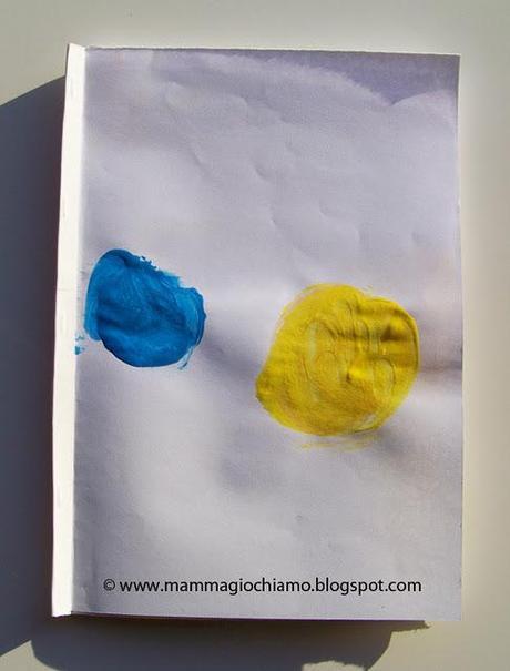 Libro Fai Da Te Con Le Tempere Piccolo Blu E Piccolo Giallo